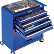 Westfalia Werkstattwagen auf Rollen mit 4 Schubladen